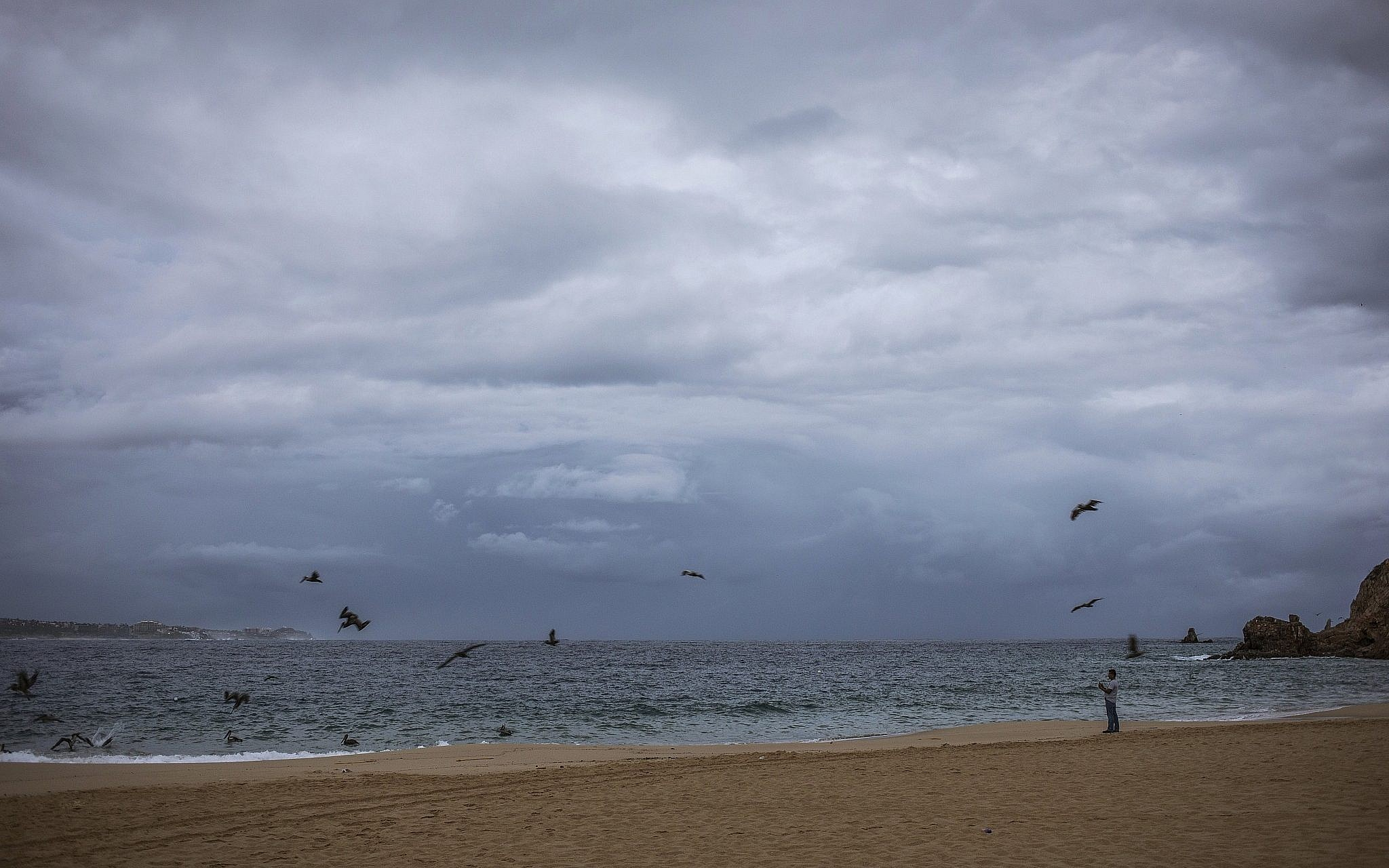 Hurricane Lorena threatens Mexico's Los Cabos resorts with heavy rain, wind