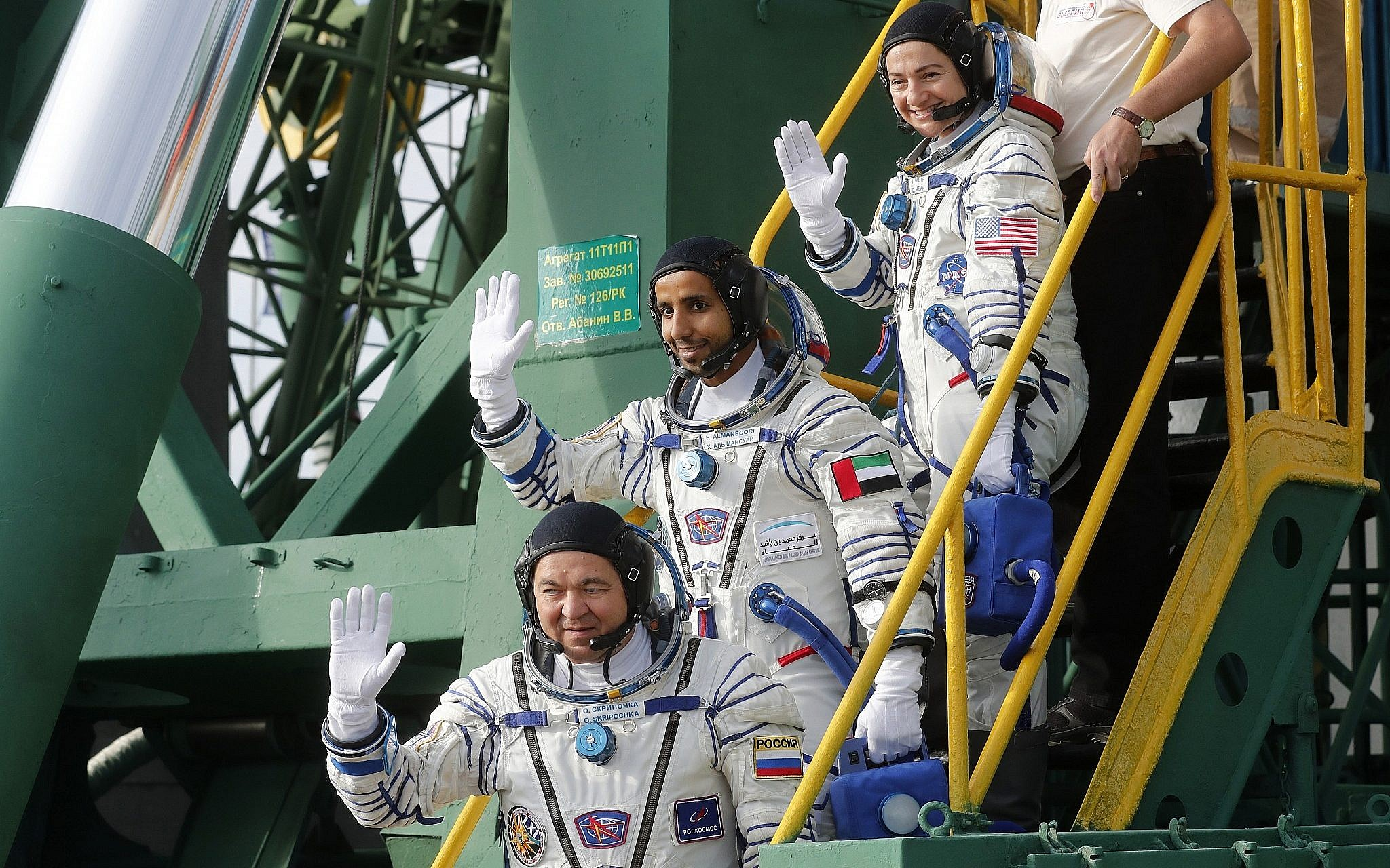 First astronaut from UAE set to fly to space station
