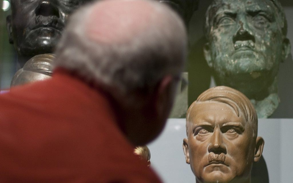 Hitler bust found in cellar of French Senate