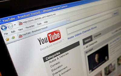This March 18, 2010 photo shows the YouTube website (AP Photo/Richard Vogel, File).