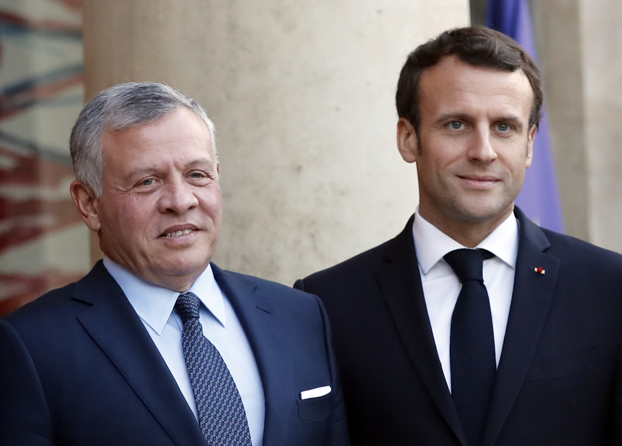 France Jordan Leaders Share Concern Over Netanyahu Annexation Plan The Times Of Israel