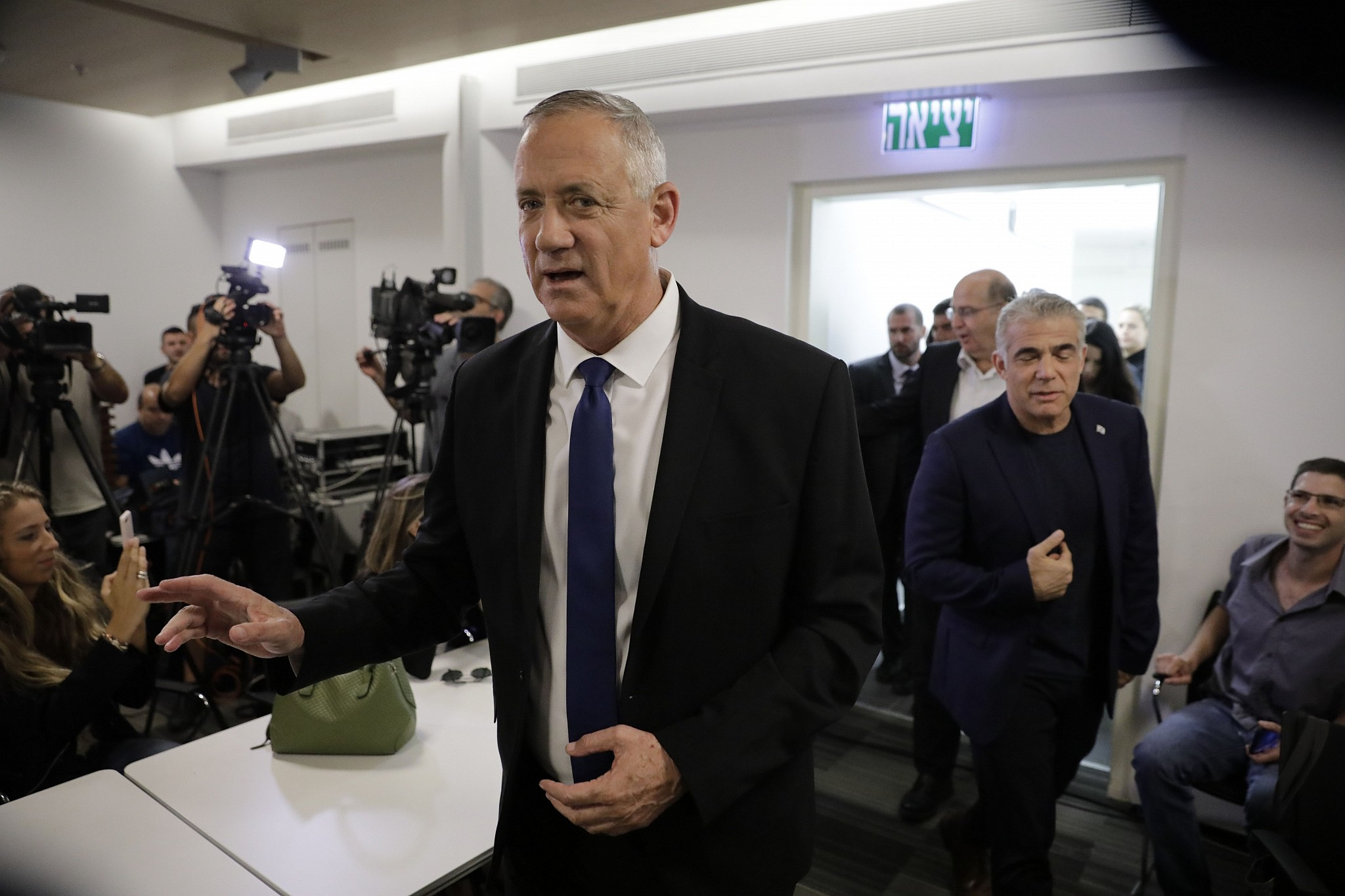 Gantz party says no to Netanyahu-led unity government