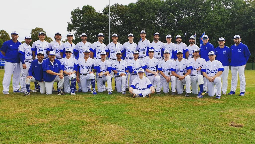 Israel qualifies for Olympic baseball for 1st time