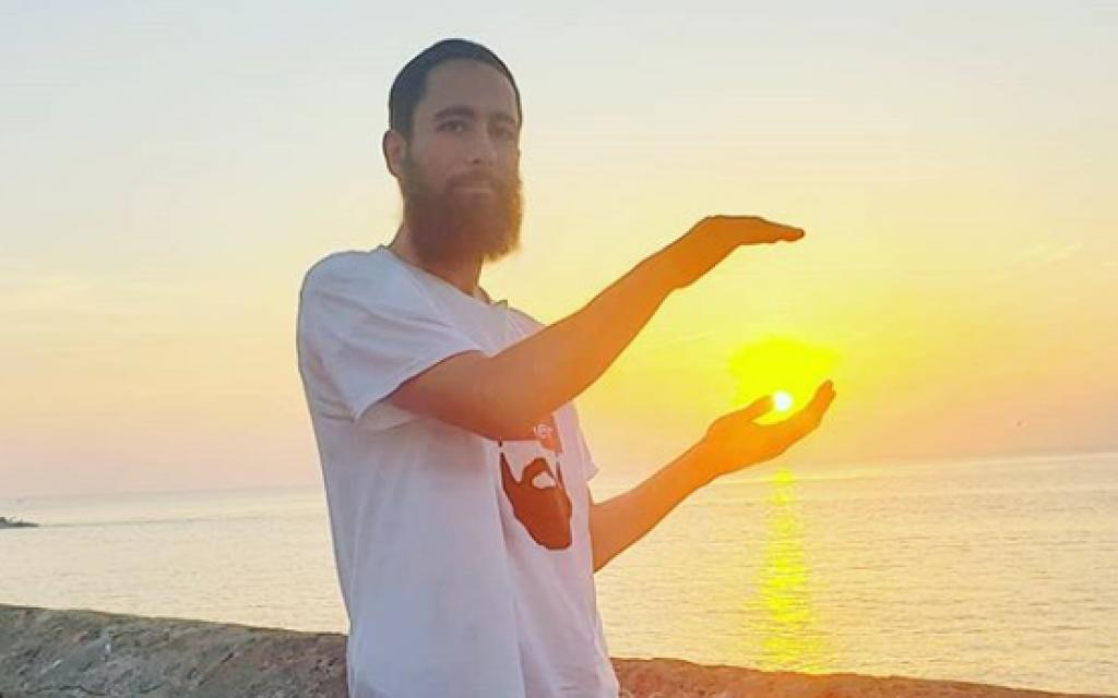 Rabbi Daniel Bortz in Gallipoli, Italy. (Courtesy)
