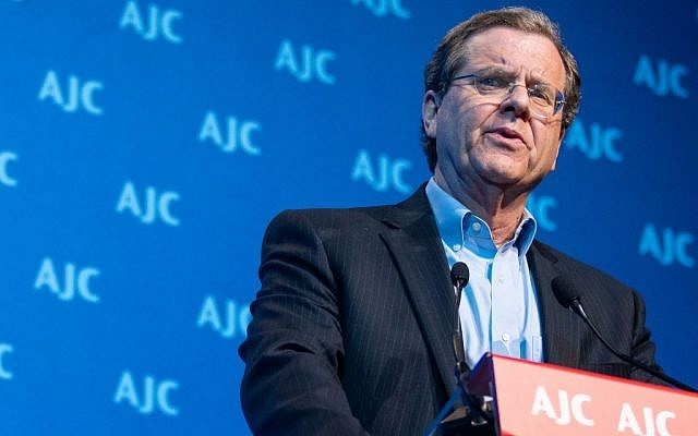 David Harris, executive director of the American Jewish Committee. (Courtesy)