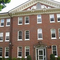 East Hall at Tufts University in Medford, Mass. (Wikimedia Commons via JTA)