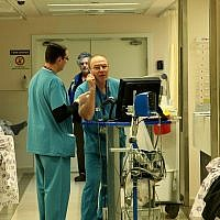 Illustrative: Medical staff at Rambam Hospital Jan 30 2011.( Moshe Shai/Flash90)