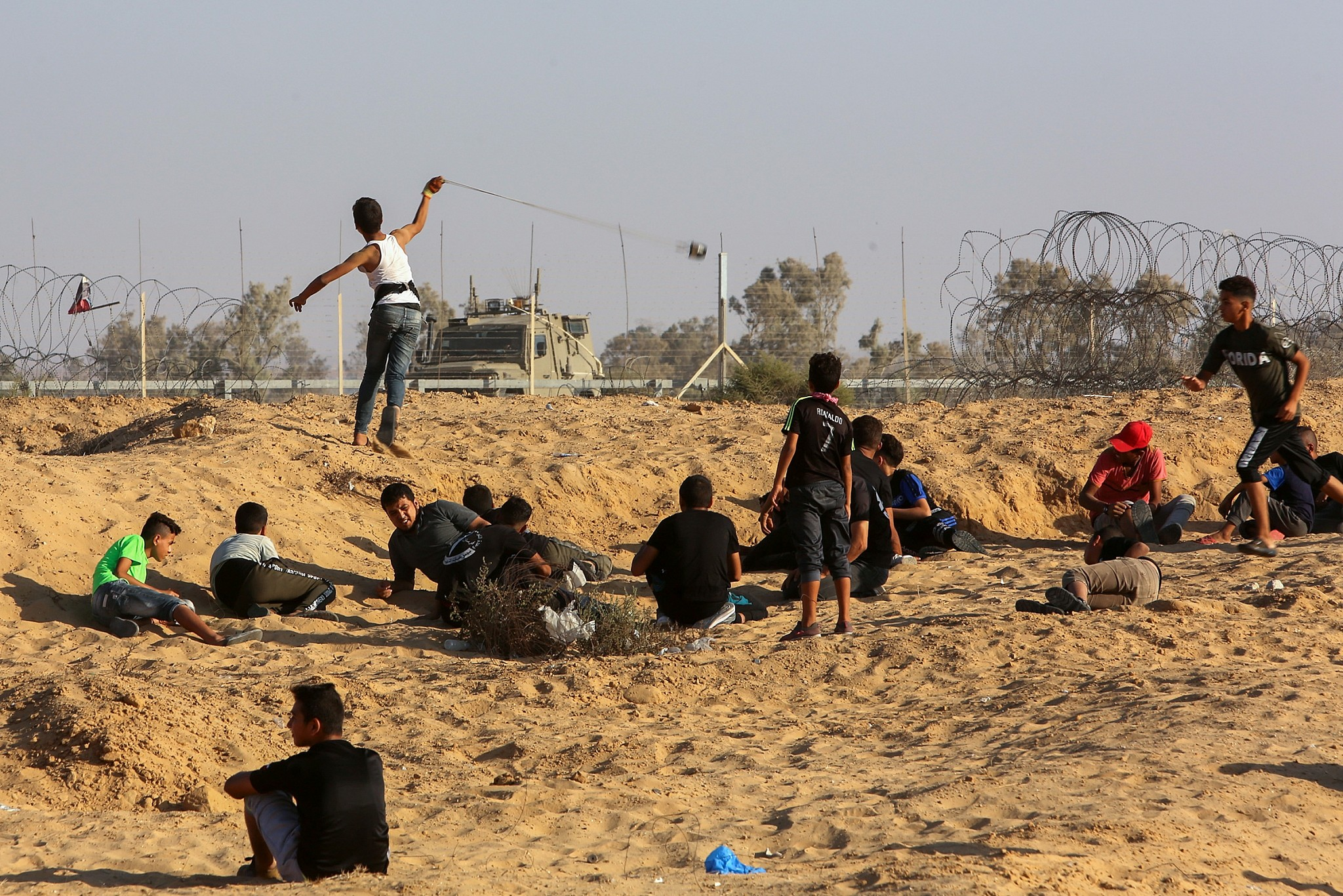 Egyptian delegation hastens to Gaza to mediate as tensions