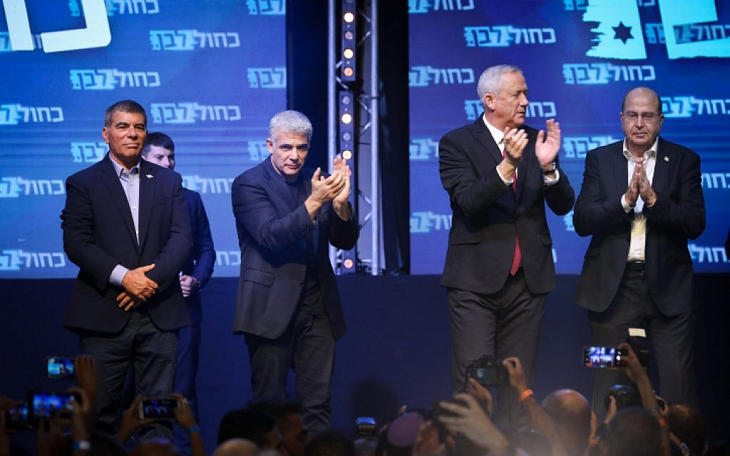 Cautiously optimistic after early returns, Gantz begins reaching out to allies