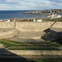 Fort Revere Park in Hull, Massachusetts. (John Phelan/Wikimedia Commons via JTA)