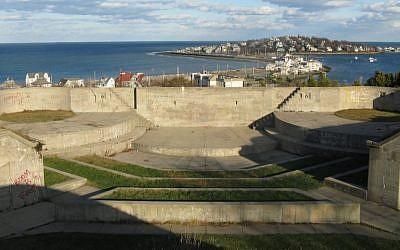 Fort Revere Park in Hull, Massachusetts. (John Phelan/Wikimedia Commons via JTA)