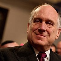 World Jewish Congress president Ronald Lauder in Leipzig, Germany, August 30, 2010 (Sean Gallup/Getty Images via JTA)