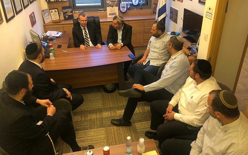 A handout photo released by Likud shows officials from the faction and other right wing and religious parties meeting on September 24, 2019. (Likud)
