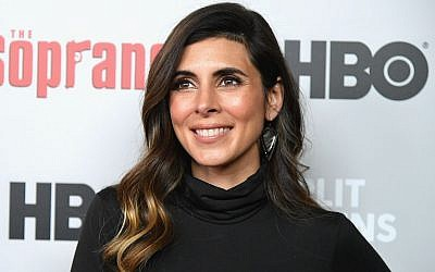 "Jamie-Lyn Sigler is the voice of a new Disney princess from a ""Latino Jewish kingdom."" (Mike Coppola/WireImage via JTA)"