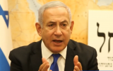Prime Minister Benjamin Netanyahu implores Israeli voters to back his Likud party in a Facebook video on September 17, 2019. (Screen capture: Facebook)