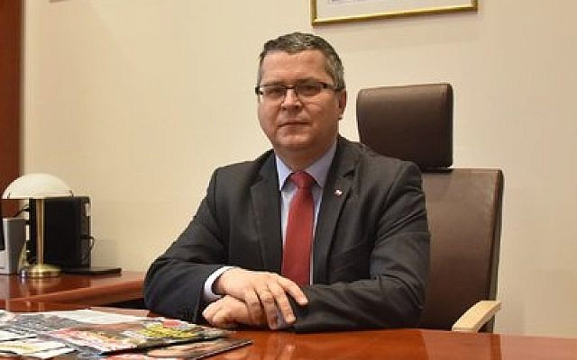 Jarosław Dudzicz, president of the court in Gorzów Wielkopolski, Poland. (Twitter)