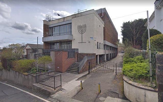 Screen capture of Giffnock & Newlands Synagogue, Scotland. (Google maps)