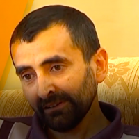 Palestinian security prisoner Bassam al-Sayeh (Screenshot: Youtube)
