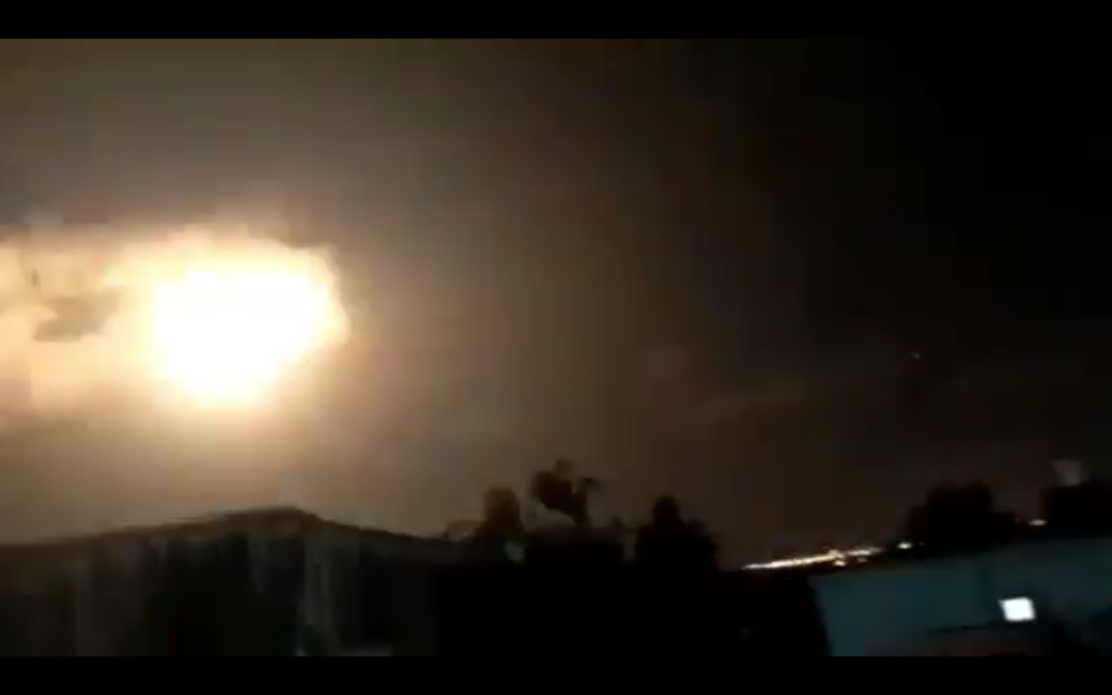 Rocket sirens triggered in south as IDF reportedly conducts Gaza reprisal raids