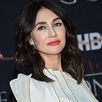 "Actress Carice van Houten attends HBO's ""Game of Thrones"" final season premiere at Radio City Music Hall , April 3, 2019, in New York. (Evan Agostini/Invision/AP)"