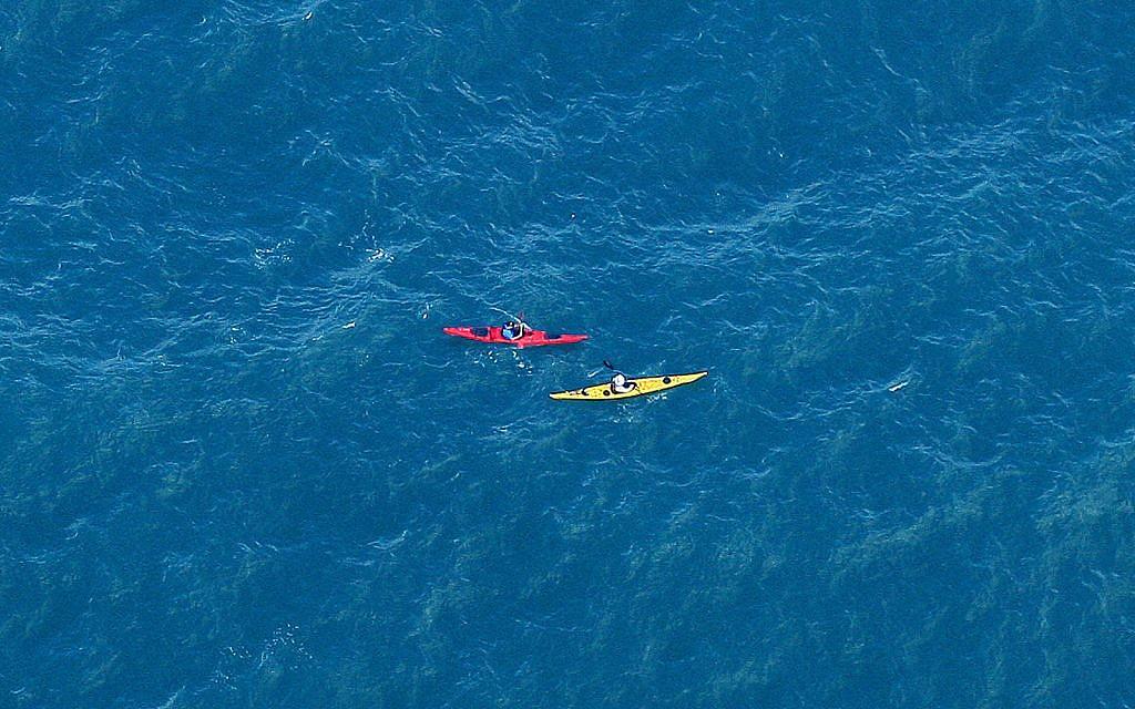Israeli kayakers rescued on island hop in Greece