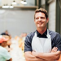 David Hertz is the cofounder of Gastromotiva, a Brazilian-based organization that fights unemployment and social inequality. (Courtesy of the Charles Bronfman Prize via JTA)