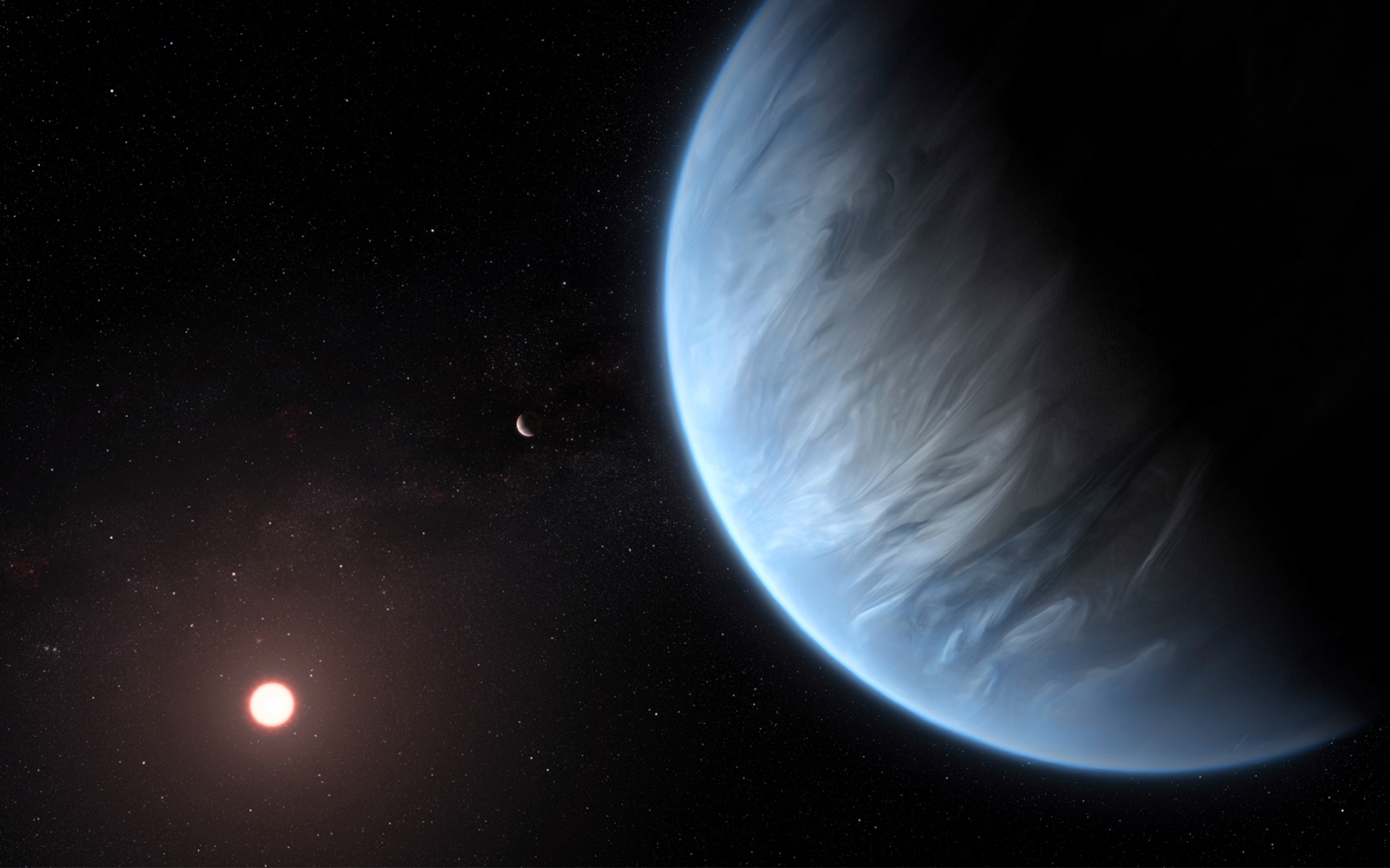 Scientific First: Water Found On Planet Outside Our Solar System