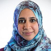 Zahra Billoo was among 17 new members of the Women's March board. (Women's March via JTA)
