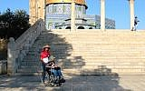 The Dome of the Rock is accessible to disabled travelers via ramp. (Shmuel Bar-Am)