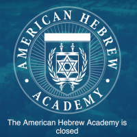 The American Hebrew Academy closed abruptly in June due to financial issues. (Screenshot from American Hebrew Academy via JTA)