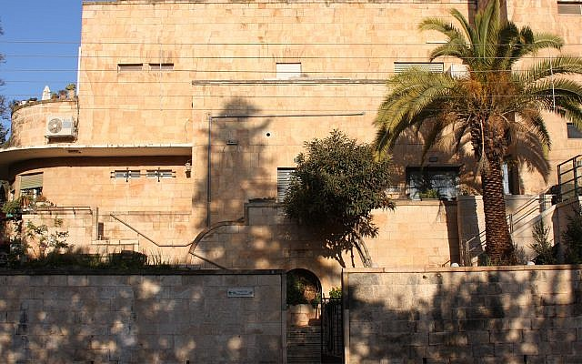 """Villa Lea"" was designed in 1936 for Lea Tannenbaum, the daughter of a rich, ultra-orthodox Jerusalem merchant. (Shmuel Bar-Am)"