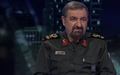 Mohsen Rezaei (MEMRI screenshot)