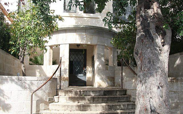 The Foner-Hyman House on Ben Maimon boulevard was built in 1932. (Shmuel Bar-Am)