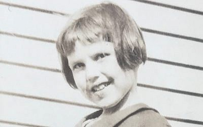 Barbara Griffiths, age four (Courtesy Barbara Klemens Griffiths)