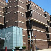 Yeshiva University's Mendel Gottesman Library (Wikimedia Commons via JTA)