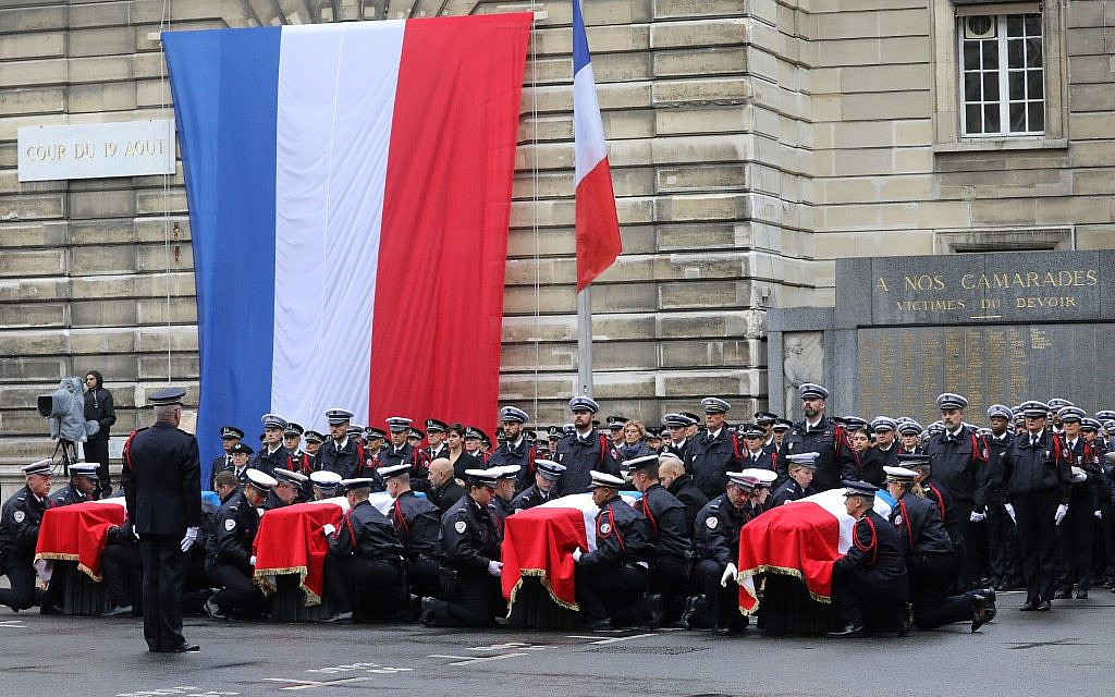 5 detained over deadly knife attack at Paris police HQ