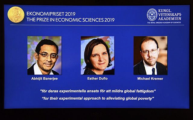 Esther Duflo becomes second woman to win Nobel Prize in economics