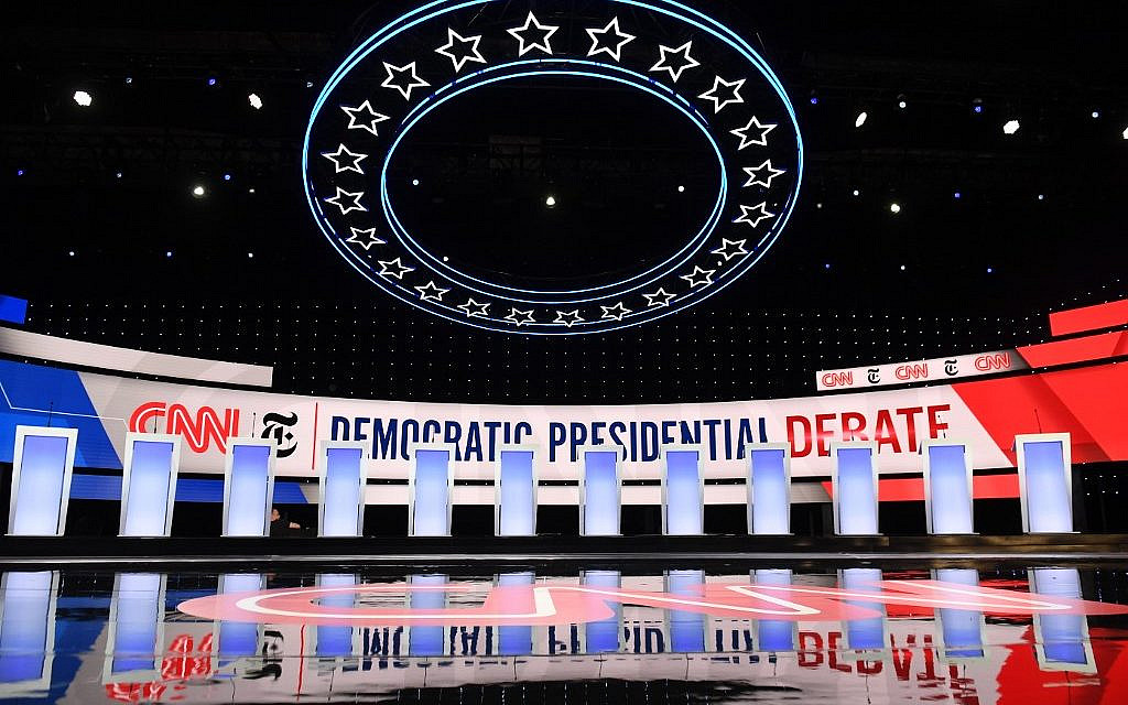 5 Jewish things to watch for at tonight's Democratic debate