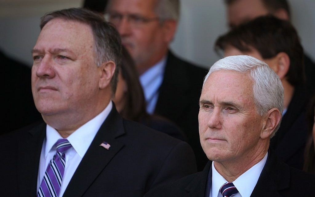 Pence, Pompeo arrive in Turkey to push Syria ceasefire