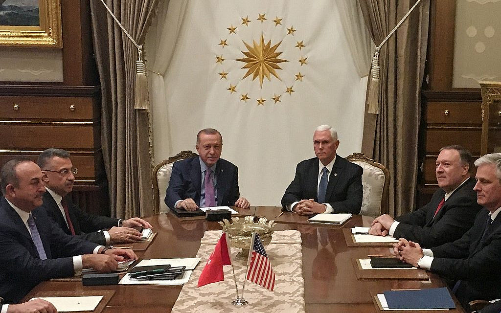 Pence says Turkey agreed to Syria truce; Trump: 'A great day for civilization'