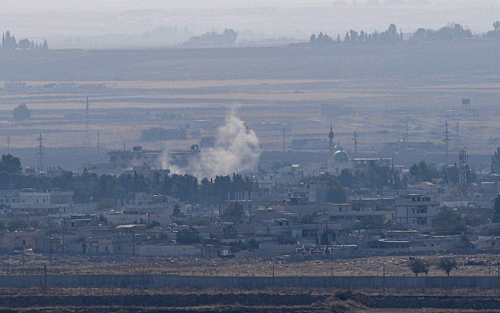 Fighting in Kurdish-held Syrian town resumes despite ceasefire