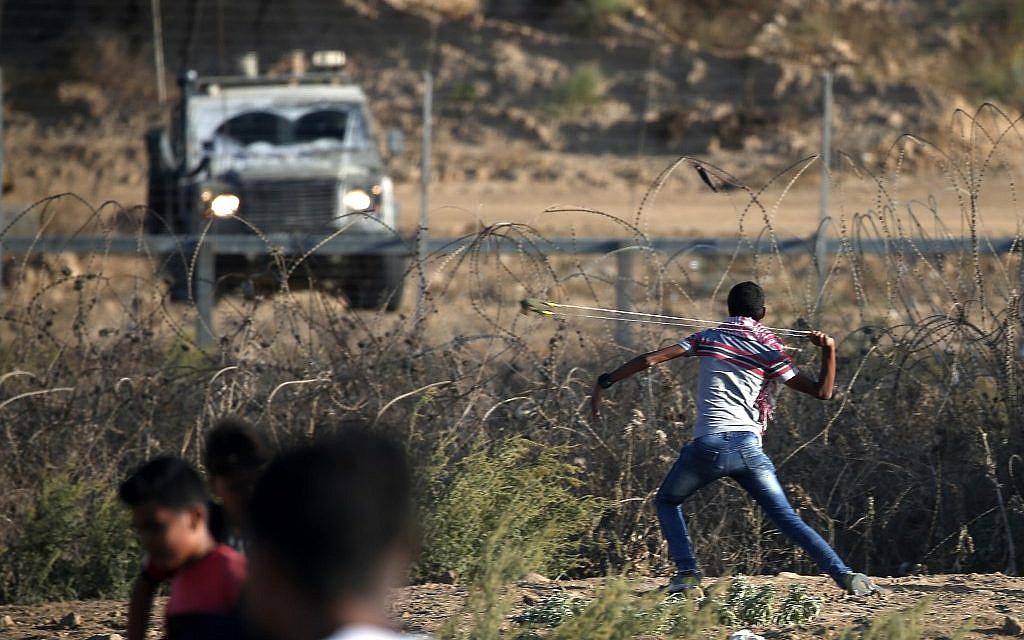 Gazan said wounded by Israeli fire near border