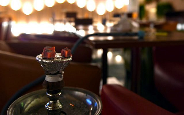 A hookah is pictured at a restaurant in Saudi Arabia's western city of Jeddah on October 20, 2019 (AFP)