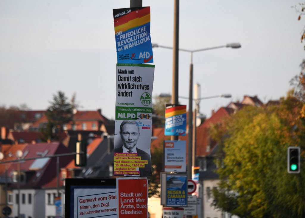 Ex-communists win German state vote but far right surges