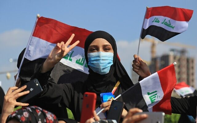 10 killed in ongoing anti-gov't protests in Iraq