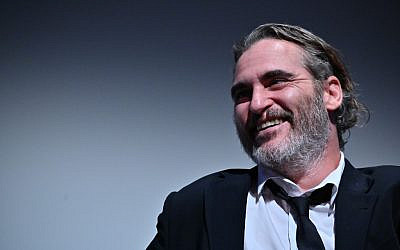 "Joaquin Phoenix attends the 57th New York Film Festival - ""Joker"" Intro and Q&A at Alice Tully Hall, Lincoln Center on October 02, 2019 in New York City. (Theo Wargo/Getty Images for Film at Lincoln Center/AFP)"