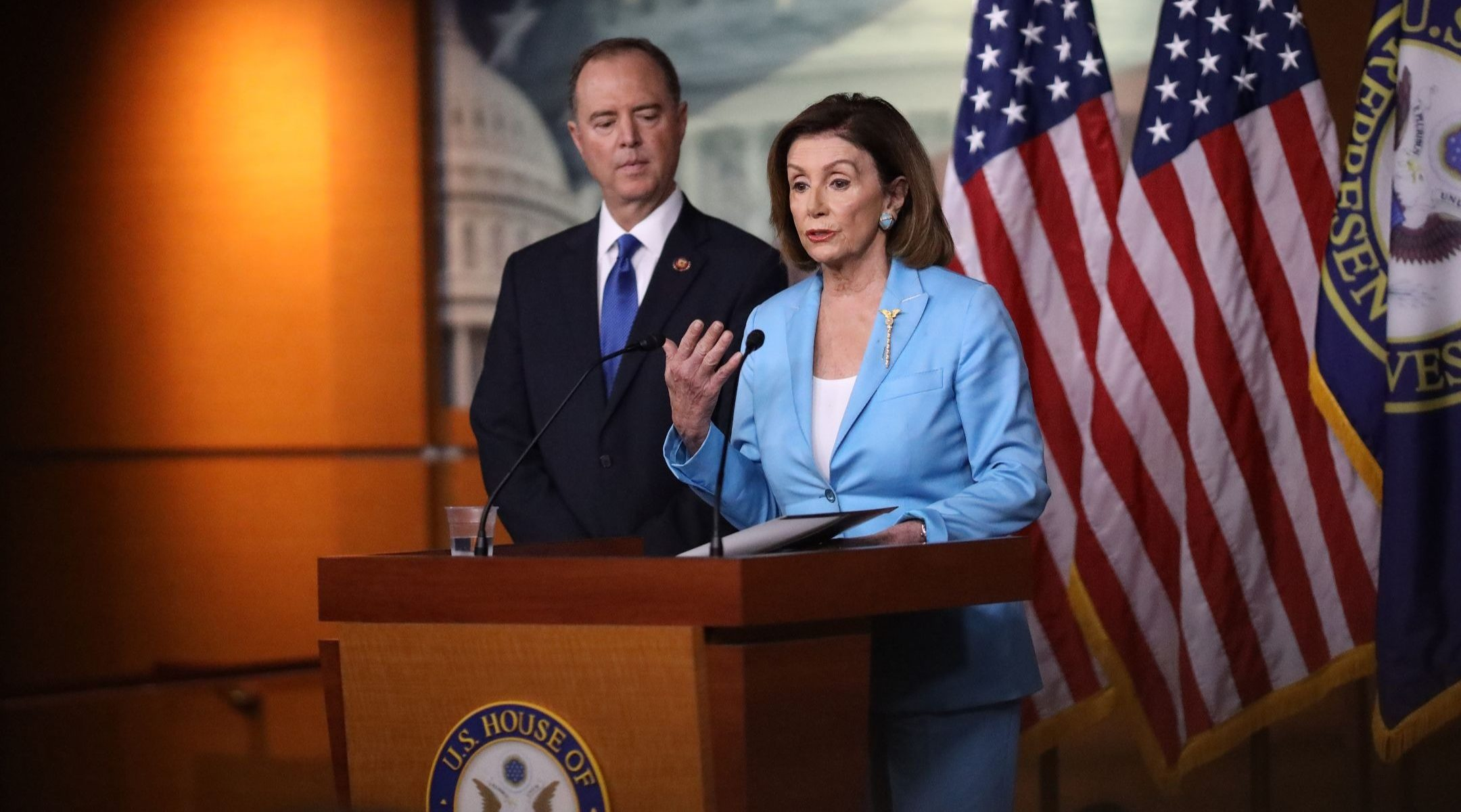 Image result for nancy pelosi and alan SCHIFF