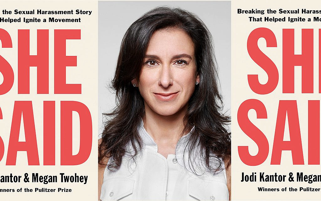 Jodi Kantor's new book 'She Said,' written with her New York Times colleague Megan Twohey, gives readers an inside look at the reporting of the Harvey Weinstein story and others integral to the #MeToo movement. (Martin Schoeller/70 Faces Media Montage)