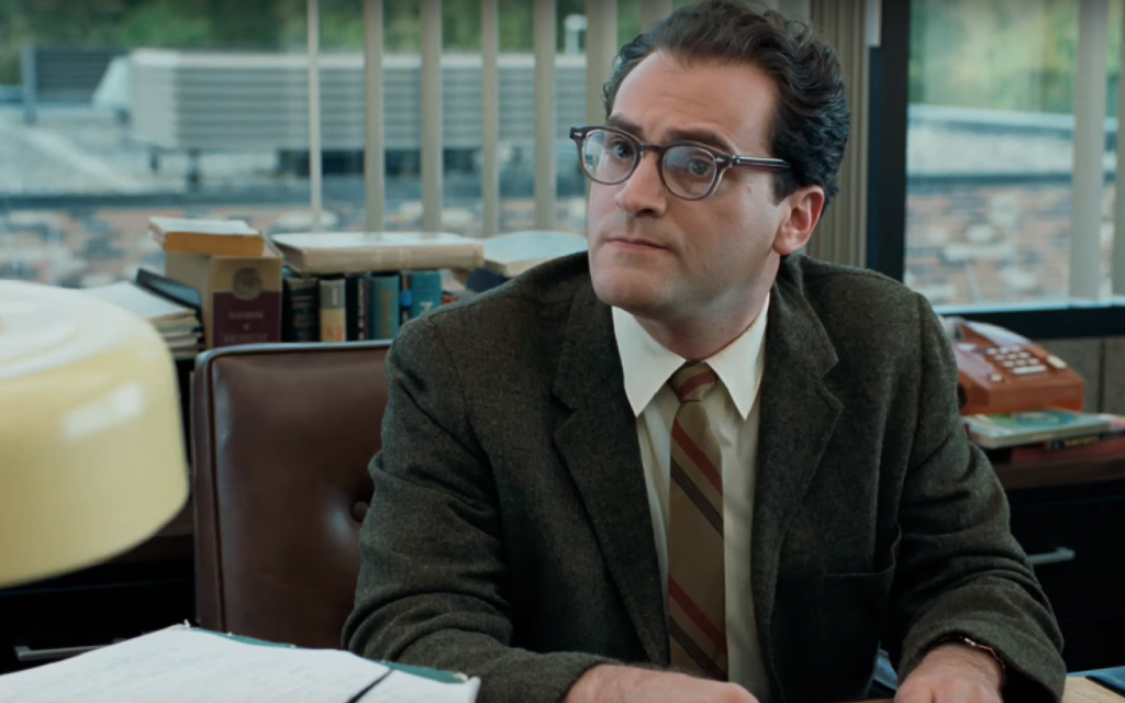 Michael Stuhlbarg in his breakout role as physics professor Larry Gopnik in the Coen Brothers' 'A Serious Man.' (Screenshot from YouTube/via JTA)