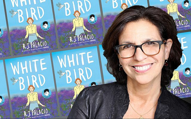 In her graphic novel 'White Bird,' R.J. Palacio tells a story of how a young Jewish girl survived World War II in France. (Heike Bogenberger)
